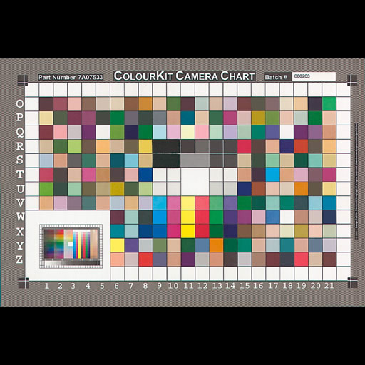 ColourKit FFEI Digital Camera Chart