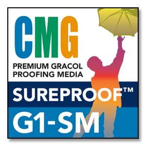 CMG SureProof G1-SM - 100' Premium Proofing Media