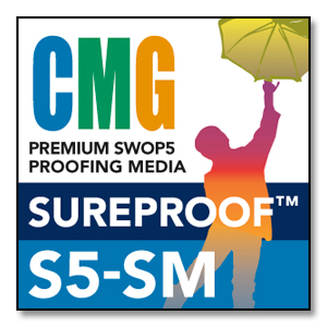CMG SureProof S5-SM - 100' Premium Proofing Media