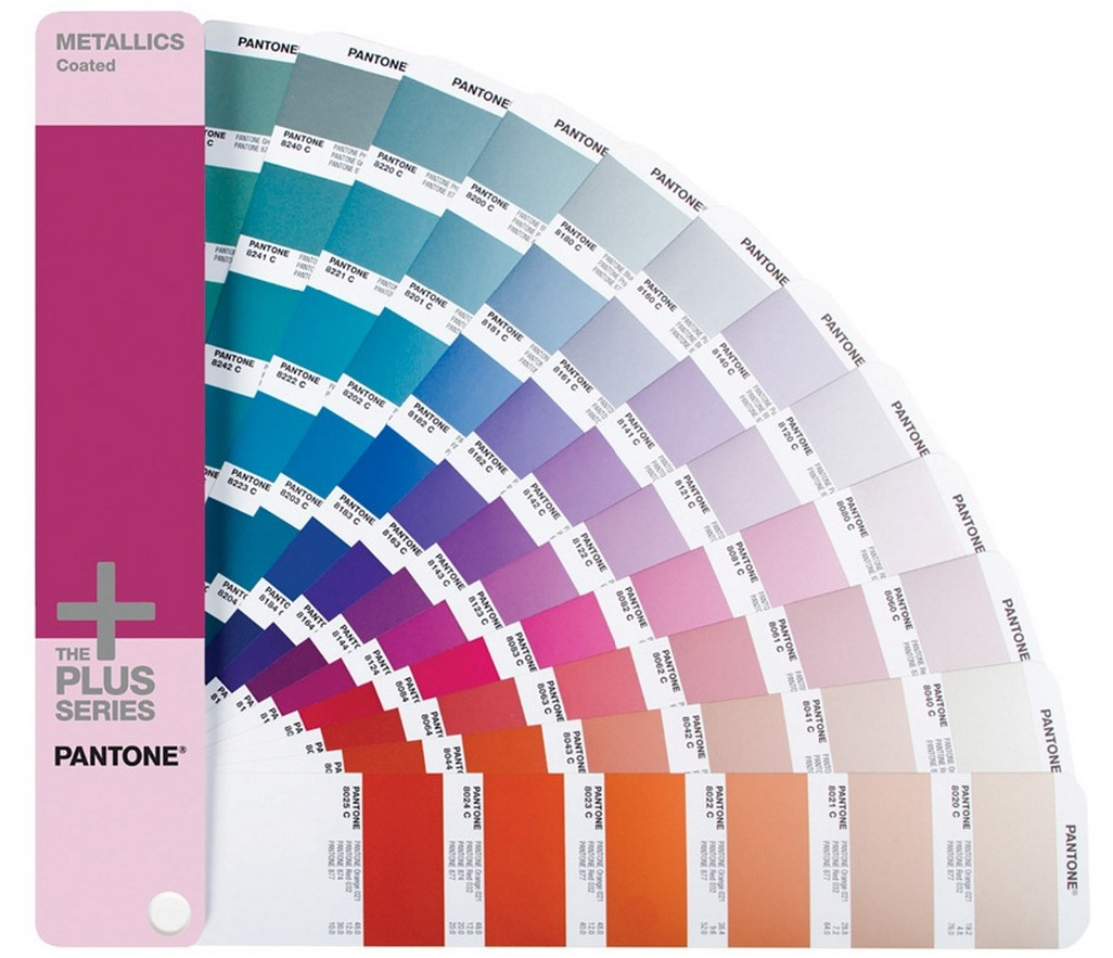 Pantone Plus Premium Metallics Coated