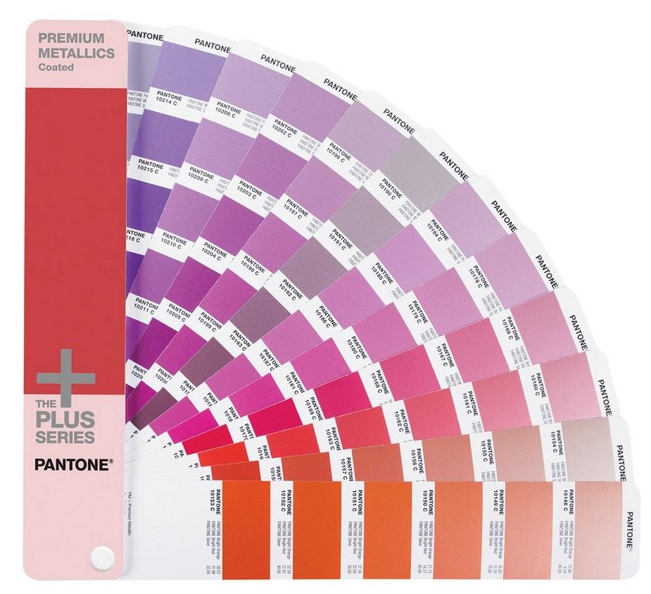Pantone Metallic Coated Guide