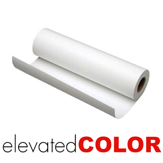 Elevated Color 8mil Bright White Adhesive Back