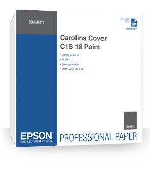 Epson Carolina Cover C1S 18 Point